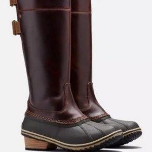 NWT Sorel Slimpack Riding Tall ii Boot sz. 8